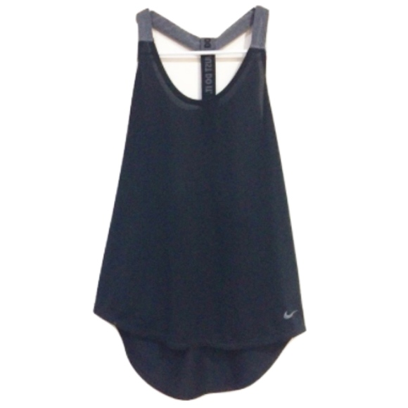 Nike Y-Back Athletic Dri-Fit Workout Tank Top